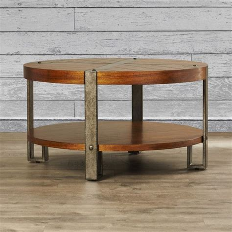 Mosca-Hooper Wooden Coffee Table