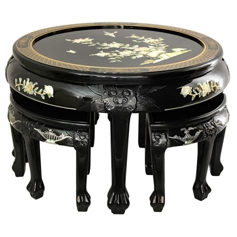Mother of Pearl Coffee Table Set