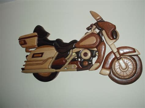motorcycle intarsia plans
