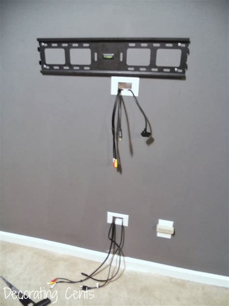 Mounting Tv On Wall Hiding Cords
