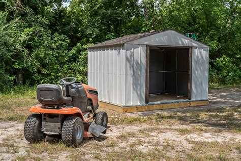 Mower Storage Shed