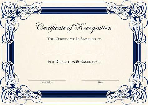 Doc994768 Award Certificate Template Word Certificates Office – Certificate of Excellence Template Word