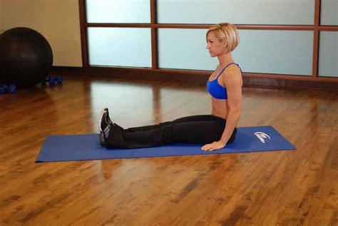 muay thai hip flexor strengthening seated calf stretch