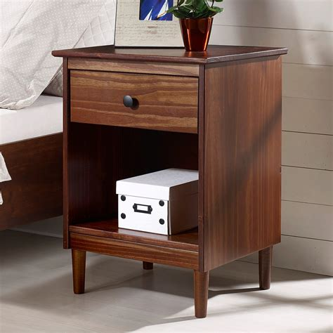 Muhammad 1 Drawer Nightstand