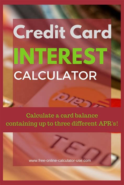 multiple credit card payoff calculator