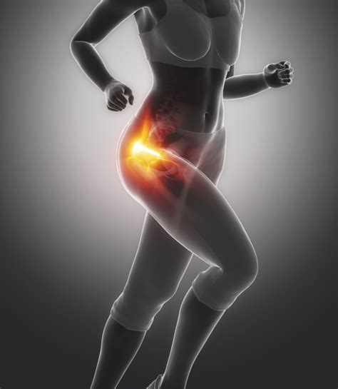 muscle pain in left hip area