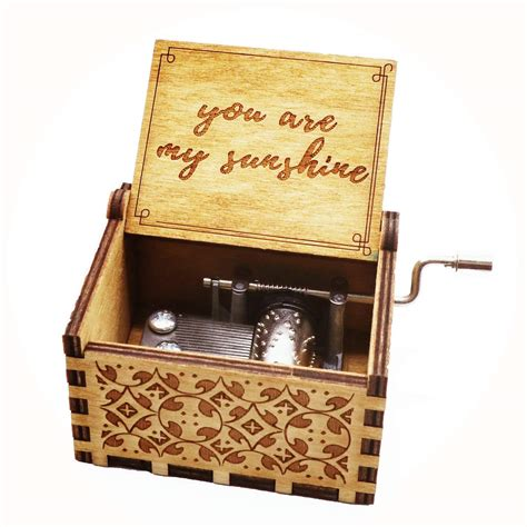 musical jewelry box you are my sunshine