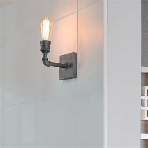 Musso Water Pipe Wall 1-Light Vanity Light