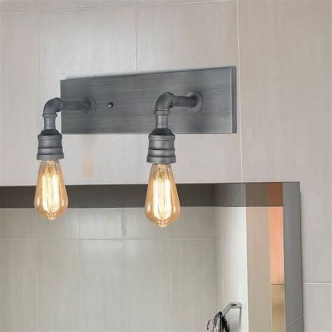 Musson Water Pipe Wall 2-Light Vanity Light