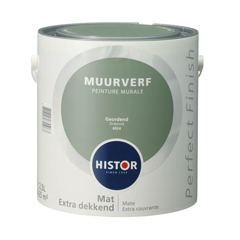 Muurverf Kleuren Histor