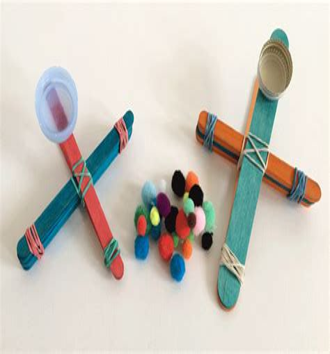 my hip flexor popsicle stick catapult project