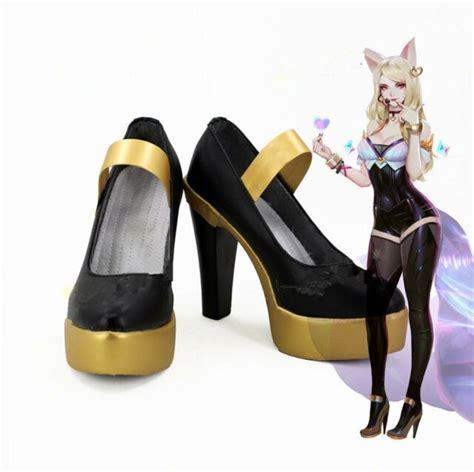 my hip flexor popstar ahri cosplay shoes