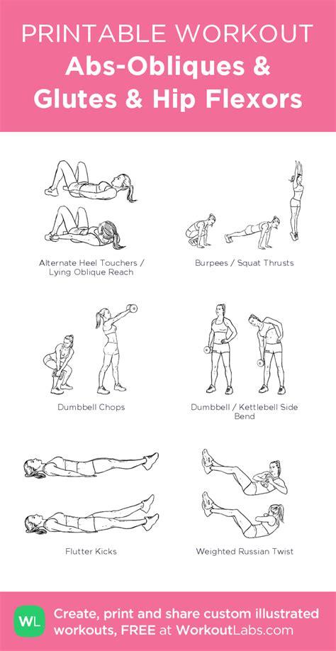my hip flexor popsugar fitness printable workouts for triceps
