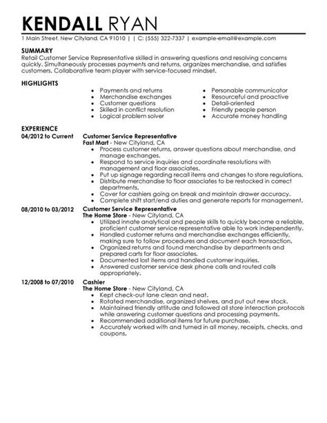 my perfect resume customer service number customer service resume 15 free samples hloom - My Perfect Resume Customer Service Number