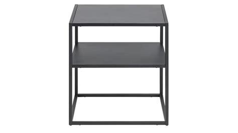 Nachttisch Metall Schwarz