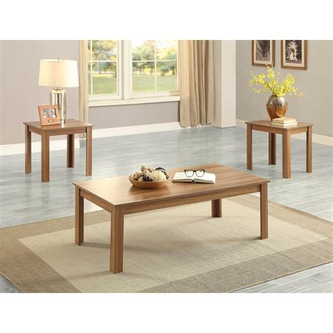Nadine 3 Piece Coffee Table Set