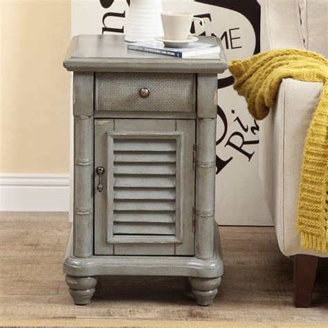Nadler 1 Door 1 Drawer End Table