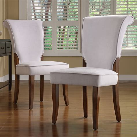 Naida Velvet Upholstered Dining Chair (Set of 2)