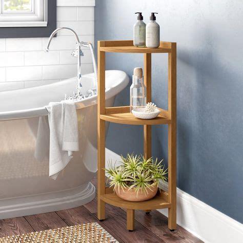 Nakasi 17.3 W x 37.8 H Bathroom Shelf