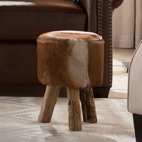 Nandamuri Hide Drum Stool