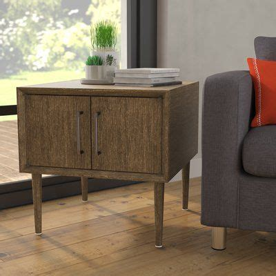 Napoleon End Table with Storage