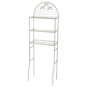 Napolitano 3 Shelves 14.5 W x 68.1 H Over the Toilet Storage