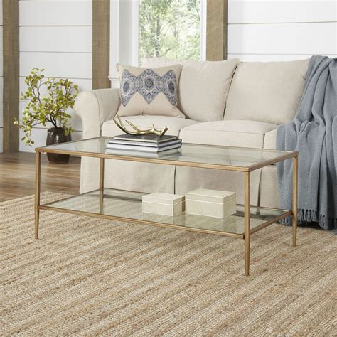 Nash Double Shelf Coffee Table