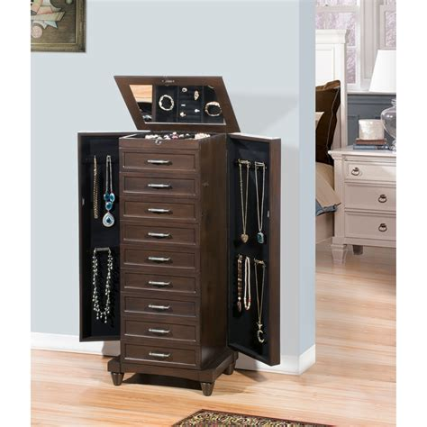 nathan direct contemporary jewelry armoire