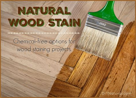 Natural Wood Stain Diy