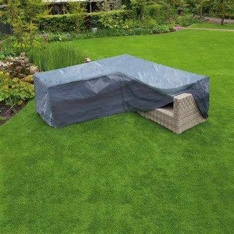 Nature Gartenmöbel Abdeckung L Förmig Pe 250x90x90 Cm 6031612
