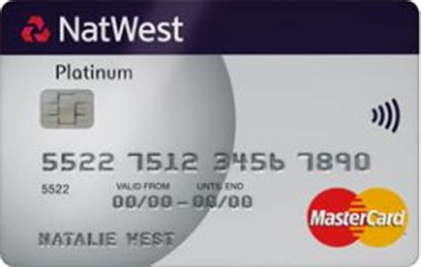 Natwest No Interest Credit Card Clear Rate Platinum Credit Card Credit Cards Natwest