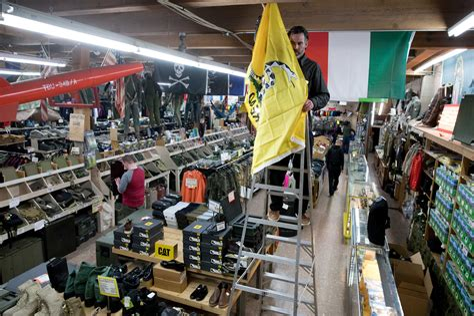 Army-Surplus Navy And Army Surplus Store.