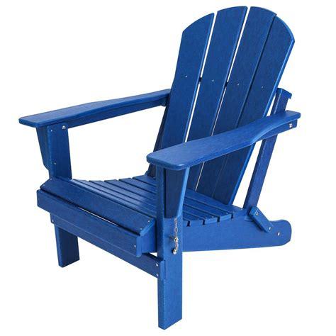 Navy Adirondack Chairs Plastic