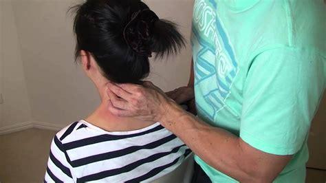 neck and shoulder massage youtube earthquake massage