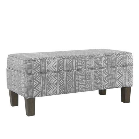 Ned Upholstered Storage Bench