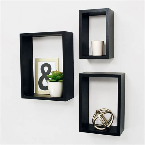 Nesting 3 Piece Wall Shelf Set