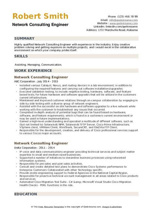 network consulting engineer resume sample engineering resume samples to jumpstart in your career