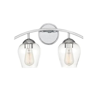 New Milford 2-Light Bath Bar