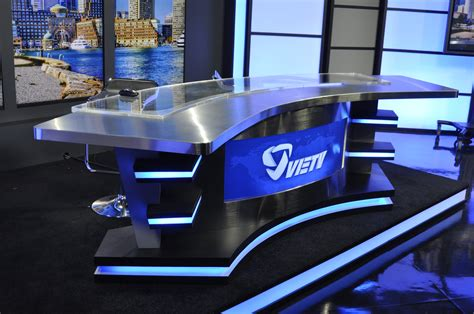 News Anchor Desk Design