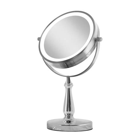 Next Generation Two-Sided LED Lighted Swivel Makeup/Shaving Mirror