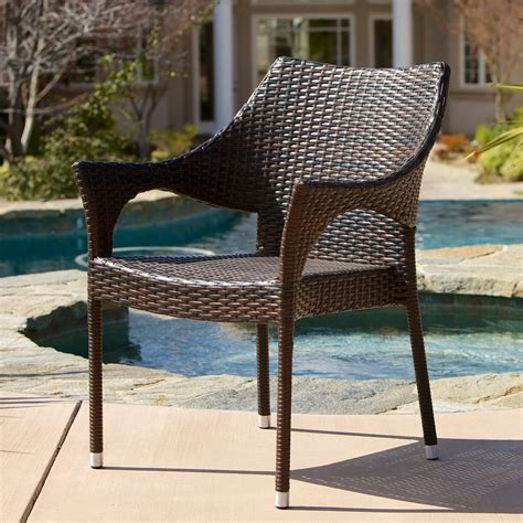 Nicolino Outdoor Wicker Armchair