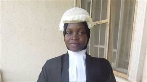 Court Dress Code For Barristers Nigerian Law Graduate Denied Call To Bar Over Hijab