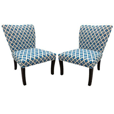 Nile Cotton Wingback Slipper Chair (Set of 2)