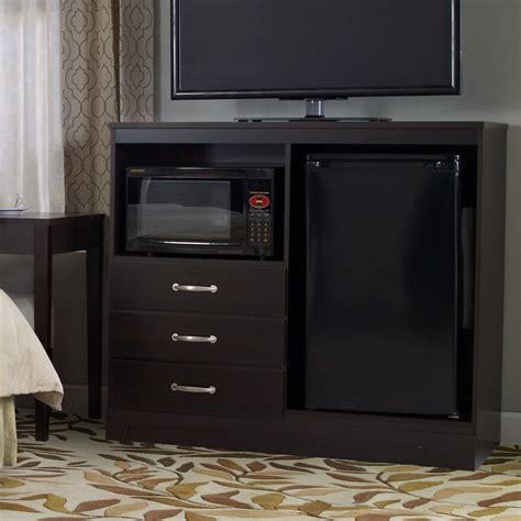 No Da Combination Mini Refrigerator and Microwave Chest