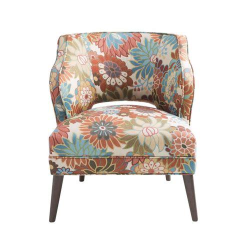 Nolan Floral Mod Side Chair
