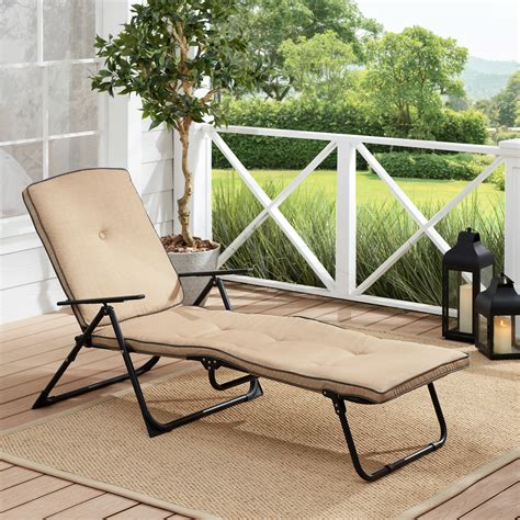Noriega Padded Chaise Lounge