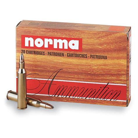 Ammunition Norma 7x57 Mauser Ammunition.