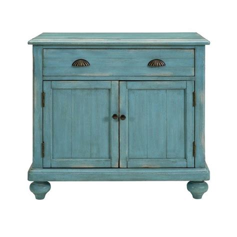 North Miami Distressed 2 Door Accent Chest