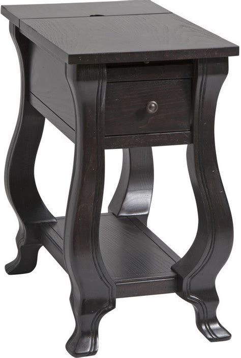 Norton Chairside Table in Espresso
