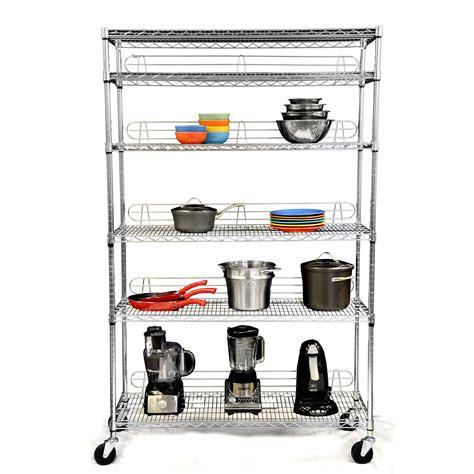 NSF 77 H 5 Shelf Shelving Unit Starter